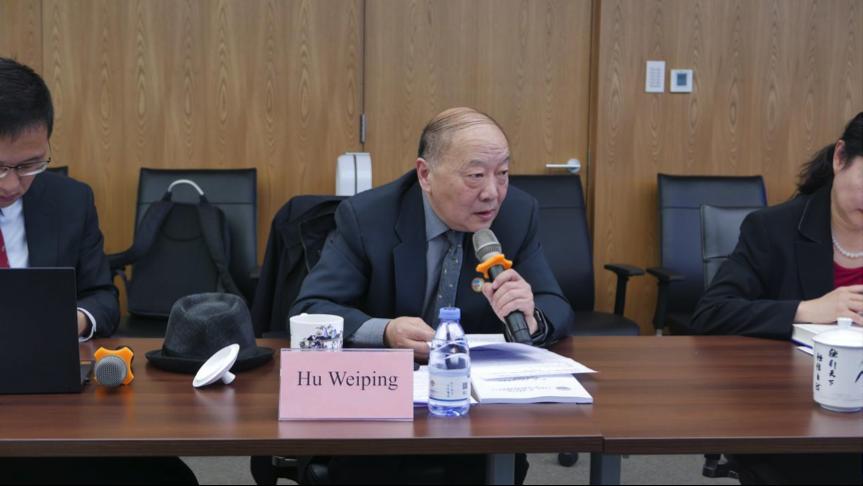 海外协会胡卫平会长出席一带一路国际商事调解中心与阿斯塔纳国际金融中心独立法